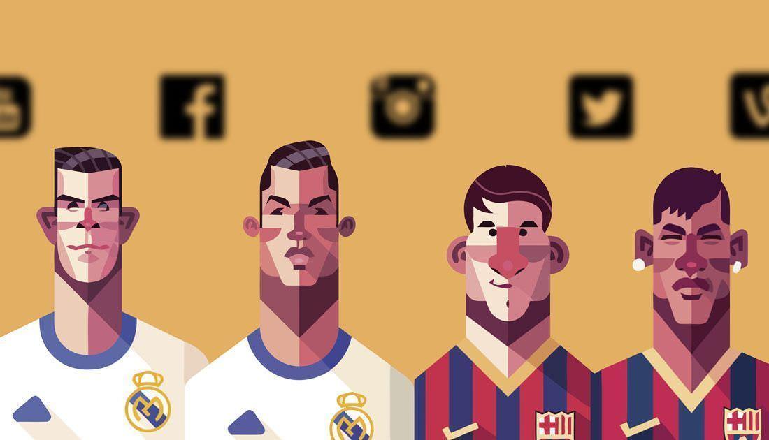 ¿Tienen relación las redes sociales con los sueldos de los futbolistas?