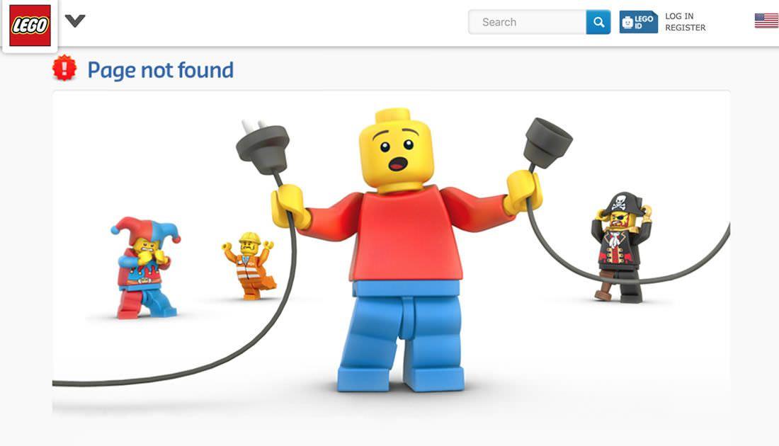 pagina 404 lego