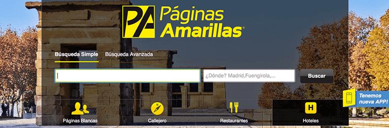 Los mejores directorios locales gratuitos for Paginas amarillas pamplona