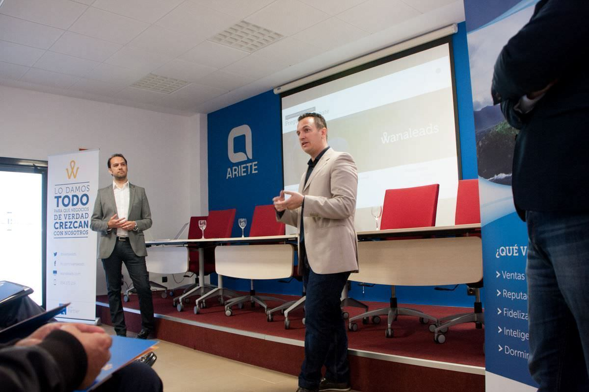 Evento Facebook VS Google en Mairena - Abril 2016