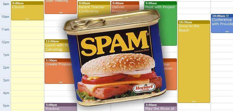 spam-google-calendar