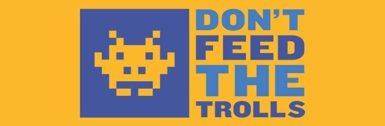 No dar de comer al troll