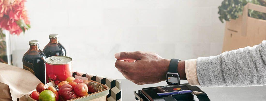 Pago mediante teléfono móvil o smartwatch