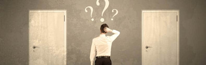 Tomar decisión para elegir empresa de mundanzas