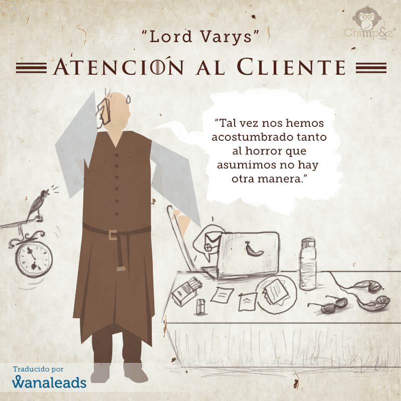 Juego de Tronos como Agencia de Marketing | Lord Varys