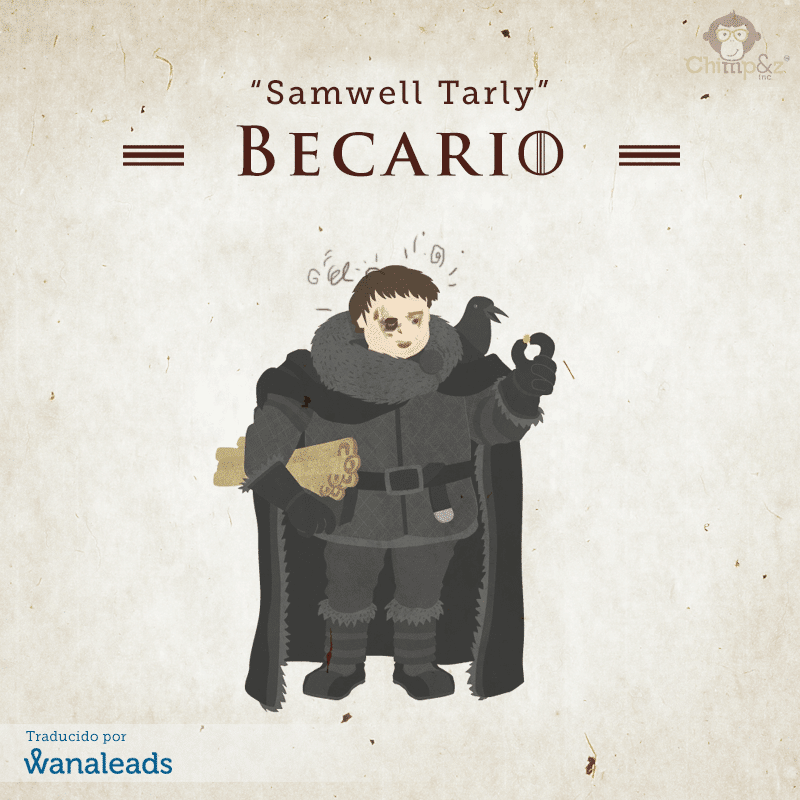 Juego de Tronos como Agencia de Marketing | Samwell Tarly
