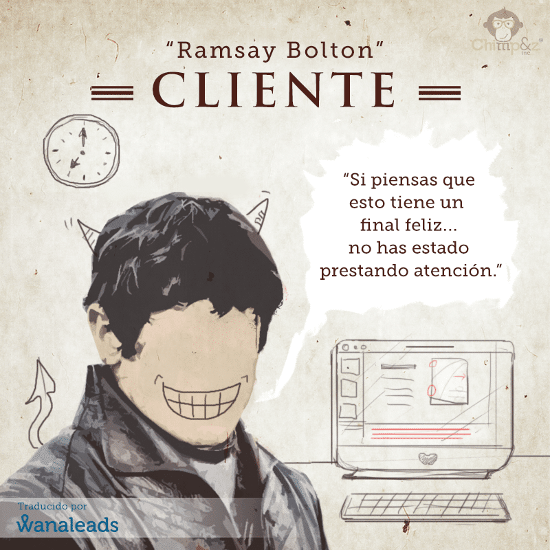 Juego de Tronos como Agencia de Marketing | Ramsay Bolton