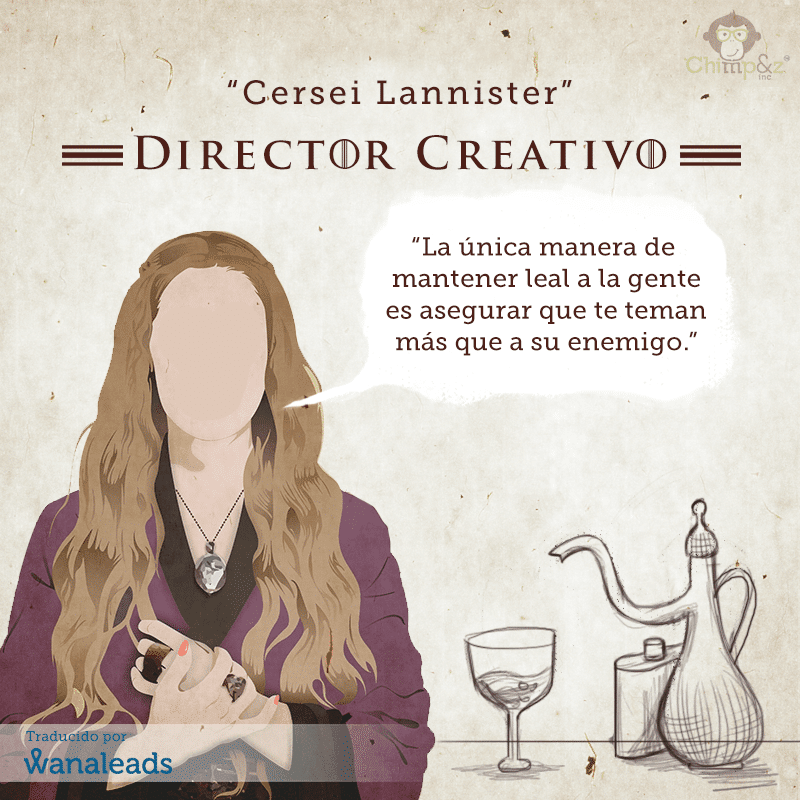 Juego de Tronos como Agencia de Marketing | Cersei Lannister