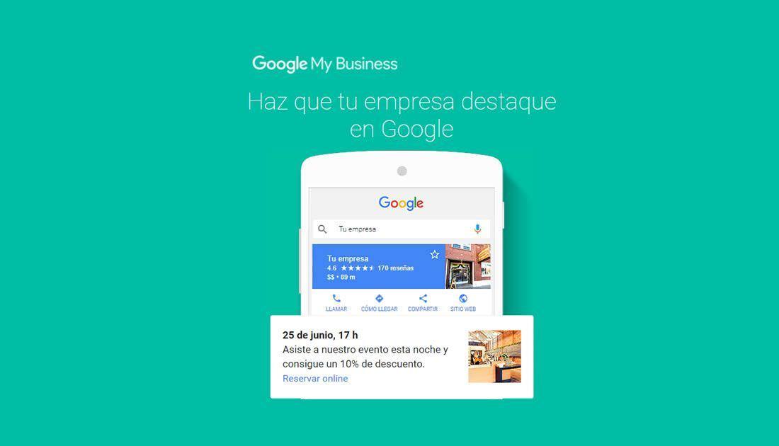 Publicaciones en Google MyBusiness para que tu empresa destaque en Google