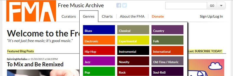 Free Music Archive (FMA)