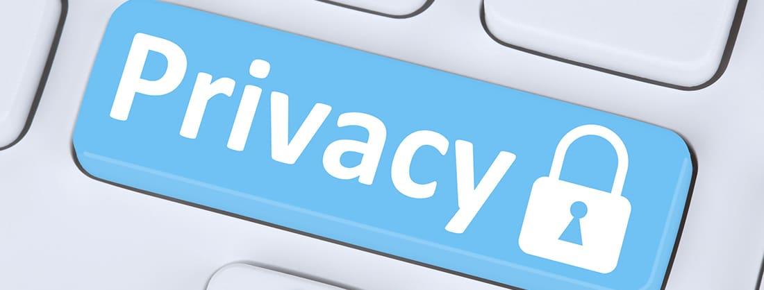 Botón de privacidad