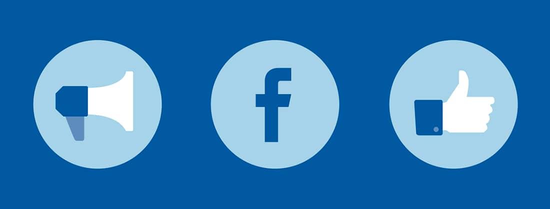 Iconos de Facebook Ads