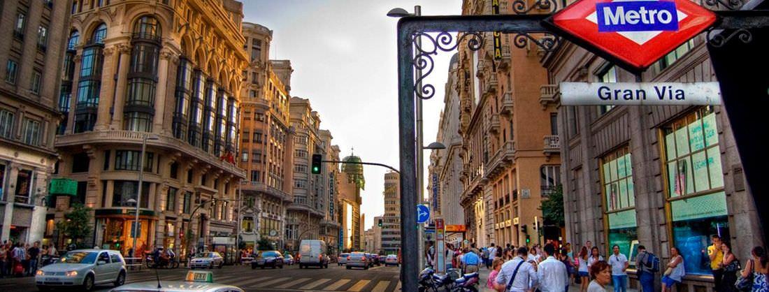 Calles de Madrid - España