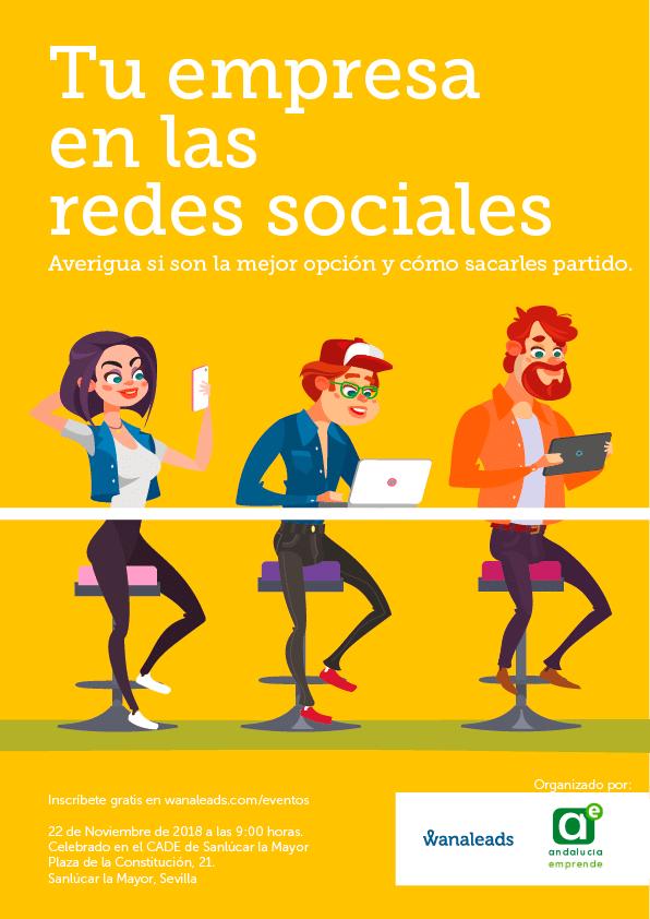 Tu empresa en las redes sociales | Evento Wanaleads