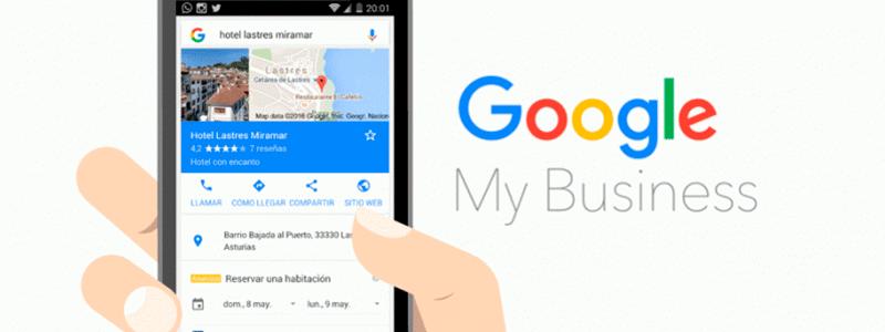 ¿Qué son las acciones de conversión que proceden de la ficha de Google My Business?