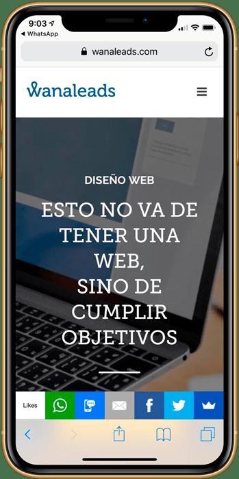 Diseño web | Wanaleads