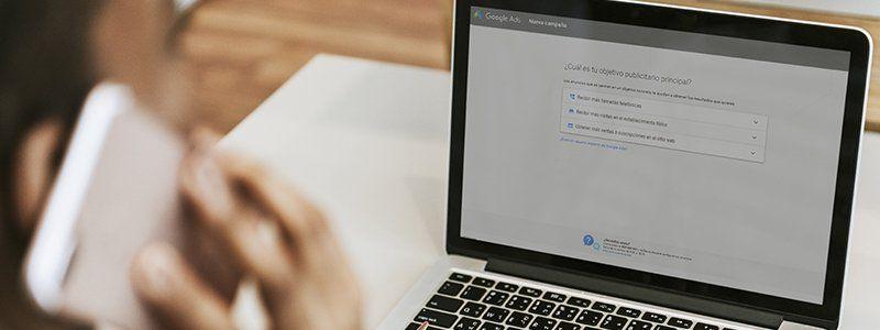 Cómo crear una campaña en Adwords Express