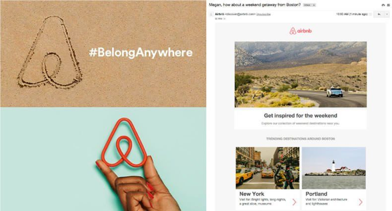 Ejemplos de Inbound Marketing - Airbnb