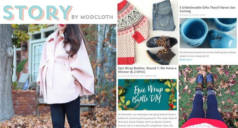 Ejemplos de Inbound Marketing - Modcloth