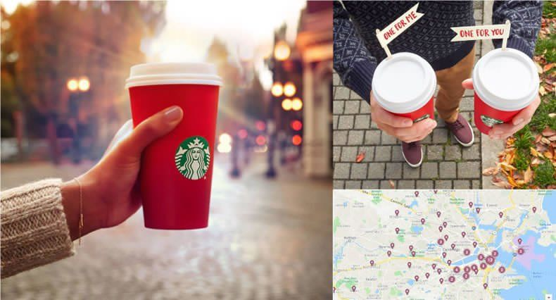 Ejemplos de Inbound Marketing - Starbucks