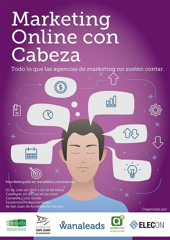 Marketing online con cabeza en San Juan de Aznalfarache