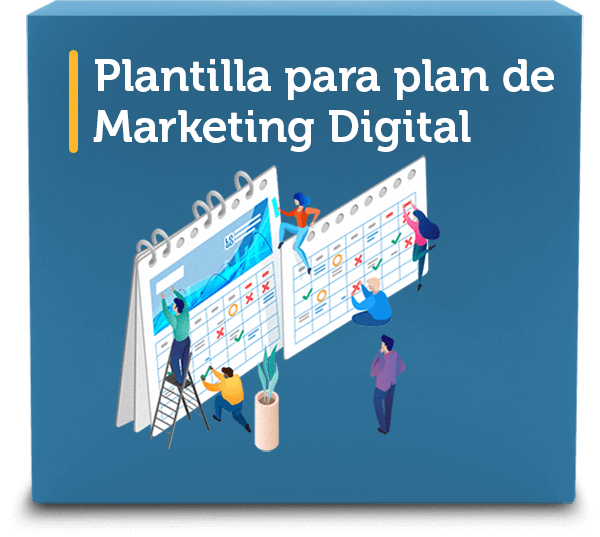 Plantilla para plan de Marketing Digital | Wanaleads