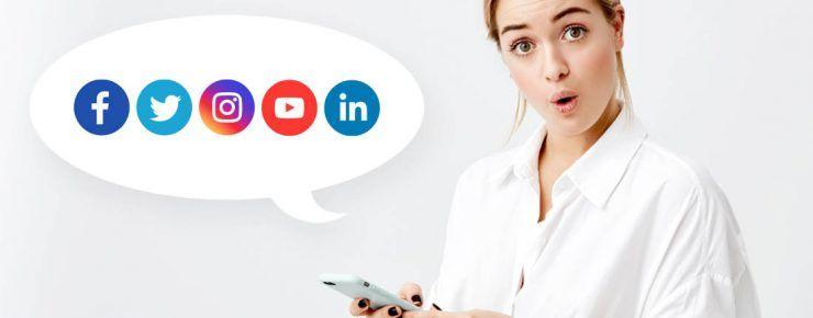 Tamaño de imágenes en redes sociales en 2020