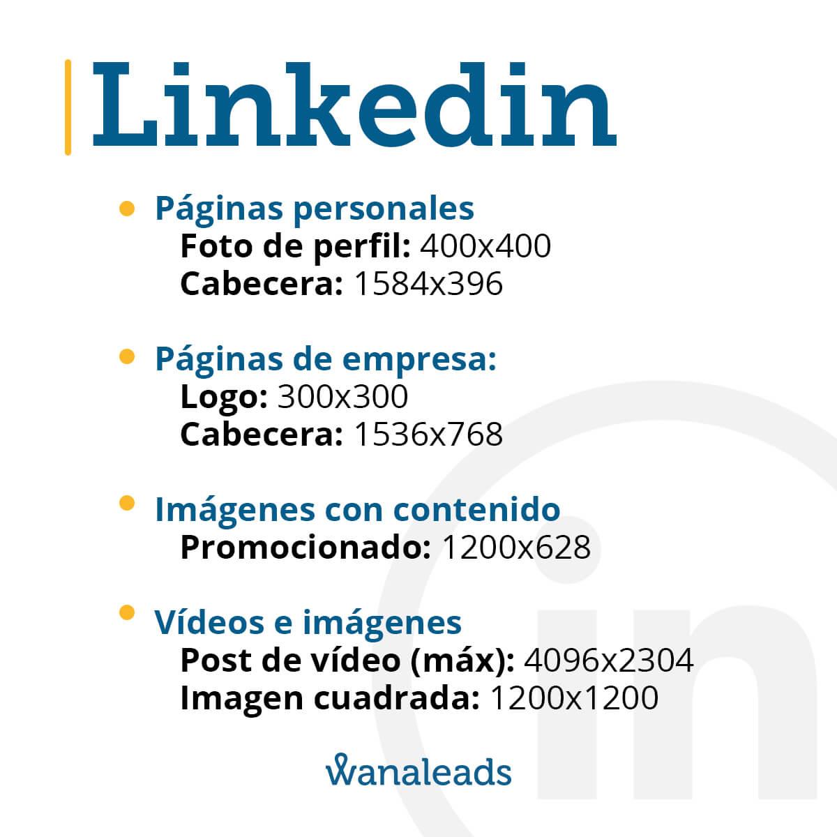 Tamaño de imágenes en redes sociales en 2020 | LinkedIn