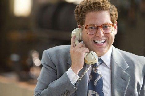 Escena de la película el Lobo de Wall Street.