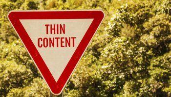 Thin content: qué es y por qué deberías controlarlo